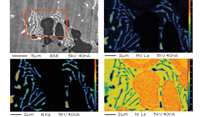 Interdiffusion of light elements in Ni-based superalloy